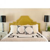 Bedding - Black Key Bedding - greek key, black, duvet