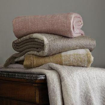 Bedding - Blanket Throw | west elm - fringed, blanket, throw