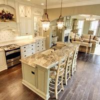 kitchens - white, cabinets,  Neutral kitchen