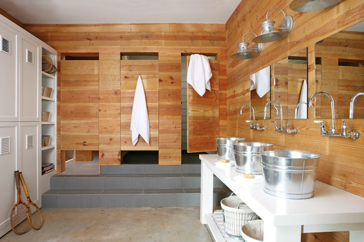 Cabin style boys bathroom country bathroom atlanta Bath barn