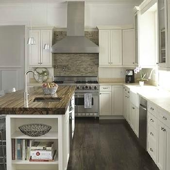 Ivory Kitchen Cabinets, Contemporary, kitchen, Freeman Design Group