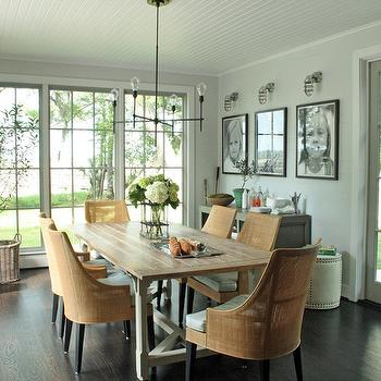 Family Photo Ideas, Cottage, dining room, Rethink Design Studio