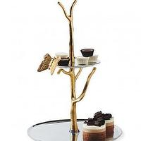 Decor/Accessories - Branch Tiered Serving Tray - VivaTerra - branch, tiered, serving, tray