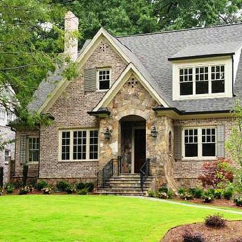 home exteriors - cottage style home,  Cottage style home in Atlanta