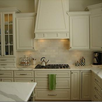 Statuary Marble Countertop, Traditional, kitchen