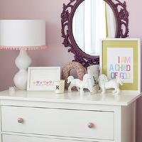 Caitlin Wilson Design - nurseries - hemnes chest, white hemnes chest, hemnes 3 drawer chest, white hemnes 3 drawer chest, Ikea Hemnes 3 Drawer Chest, Ikea Ung Drill Mirror,