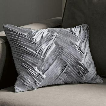 Frayed Pillow Cover, west elm