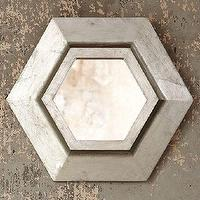 Mirrors - Hexagon Mirror | west elm - hexagon, mirror