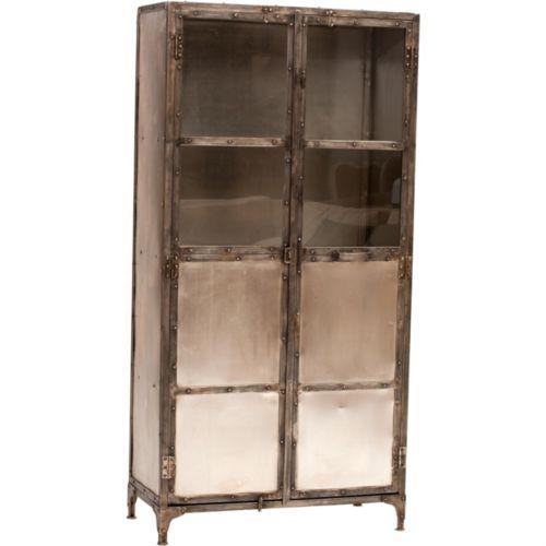 Storage Furniture - Element Cabinet - industrial, mirrored, cabinet