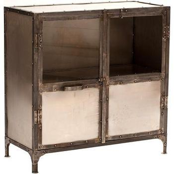 Storage Furniture - Element Small Sideboard - industrial, mirrored, sideboard
