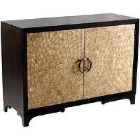 Storage Furniture - Accent Cabinet Capiz Shell Doors - capiz, cabinet