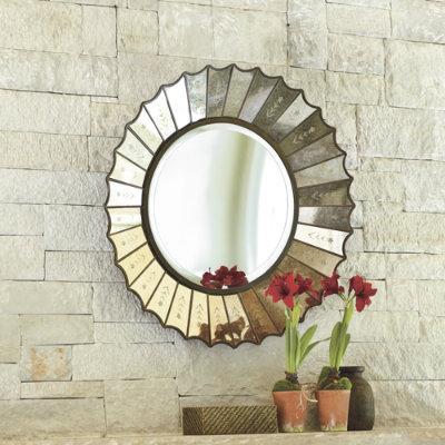 Tamaira Mirror Wall Decor Ballard Designs