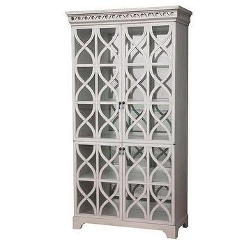 Oly Studio Elisabeth Glass Cabinet, Oly-elisabethglasscabinet, Candelabra, Inc.