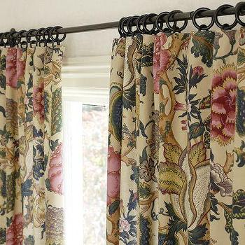 Window Treatments - Keira Palampore Drape | Pottery Barn - keira, palampore, drapes