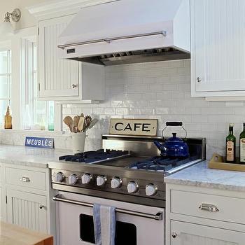 Beadboard Cabinets, Cottage, kitchen