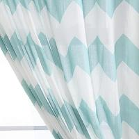 Window Treatments - UrbanOutfitters.com > Zig Zag Curtain - turquoise, blue, zig zag, curtains