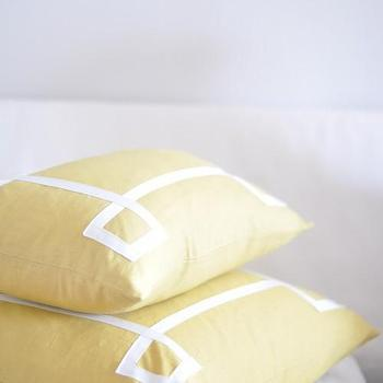 Pillows - Caitlin Wilson Textiles: Mustard Signature Pillow - mustard, signature, pillow