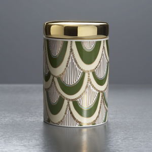 Ceramic Candle, Balsam and Cedar