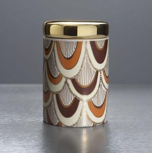 Ceramic Candle, Heirloom Pumpkin