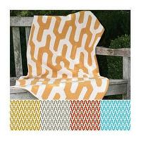 Bedding - Zhush || Tribal Blanket - orange, tribal, blanket