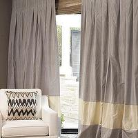 Window Treatments - The Parker Drape Sale in Progress | DrapeStyle | 800-760-8257 - two tone, silk, window panels, drapes