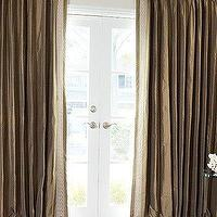 Window Treatments - The Viceroy Drape Sale in Progress | DrapeStyle | 800-760-8257 - silk, greek key, trim, viceroy, curtains, drapes, window panels