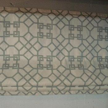 Window Treatments - melisathemom by windowsbymelissa on Etsy - windsor smith, pelagos, roman shade