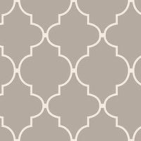 Wallpaper - Shop allen + roth Spanish Tile Wallpaper at Lowes.com - taupe, gray, moorish tiles, wallpaper