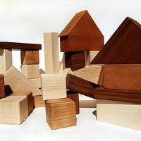 Miscellaneous - Wooden Building Blocks wooden toy wooden by littlesaplingtoys - toys