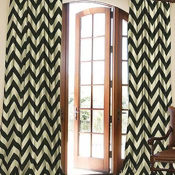 Window Treatments - Contemporary Cotton Collection Sale in Progress | DrapeStyle | 800-760-8257 - zigzag, chevron, drapes