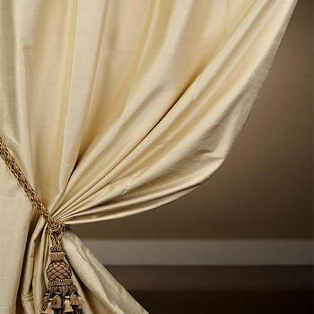 Window Treatments - Exclusive Maplewood Textured Dupioni Silk Curtains - Half Price Drapes - yellow, silk, curtains