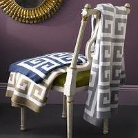 Bedding - Matouk: Arcadia - greek key, throw