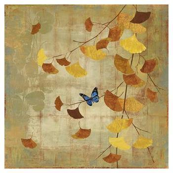 Art/Wall Decor - Gingko Branch II Print by Asia Jensen at Art.com - gingko, branch, art