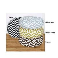 Pillows - Zig Zag 20 - zigzag, chevron, pillow