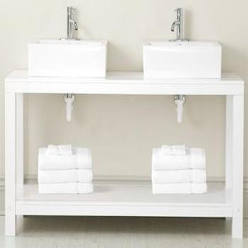 Parsons Double Vanity, Bathroom Vanities, Bath, HomeDecorators.com