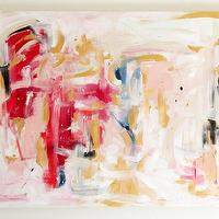 Art/Wall Decor - Pursuing - an original painting by Jen Ramos at Cocoa & Hearts - abstract, art