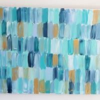 Art/Wall Decor - Scales 1 - an original painting by Jen Ramos at Cocoa & Hearts - abstract, art