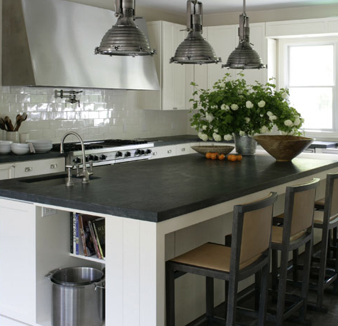 Soapstone Kitchen Countertops, Transitional, kitchen, Brad Ford ID