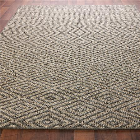 Diamond Sisal Rug: 3 Colors, Shades of Light