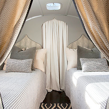 Moroccan Style Headboards, Mediterranean, bedroom, Airstream