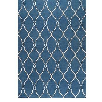 Rugs - Surya Jill Rosenwald Fallon Rug at MYHABIT - blue, moorish tiles, rug