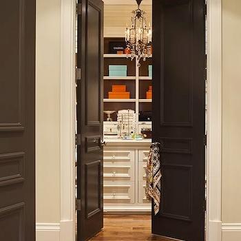 Crystal door knobs design decor photos pictures for Walk in closet doors