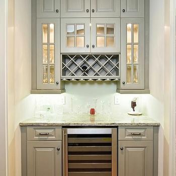 Built In Wine Rack, Transitional, kitchen