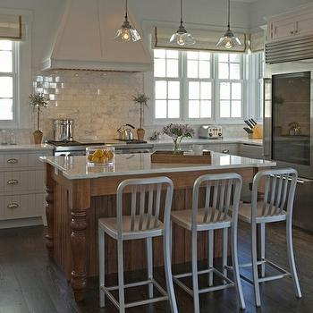 Kitchen Island with Legs, Transitional, kitchen, Darci Hether