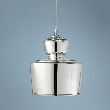 Lighting - Jamie Young Lafitte Mercury Glass 10 - jamie young, lafitte, mercury glass, pendant