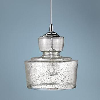 Lighting - Jamie Young Lafitte Clear Glass 10 - jamie young, lafitte, clear, glass, pendant