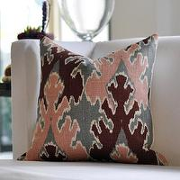 Pillows - Kelly Wearstler Bengal Bazaar in Rose/Graphite by woodyliana - kelly wearstler, bengali, pillow, rose, graphite