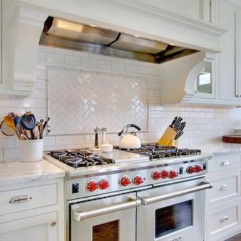 Herringbone Backsplash, Transitional, kitchen, RW Anderson Homes
