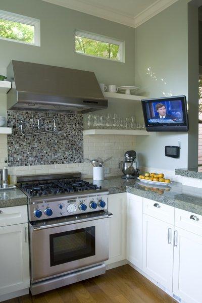Gray Granite Countertops - Transitional - kitchen - Massucco Warner ...
