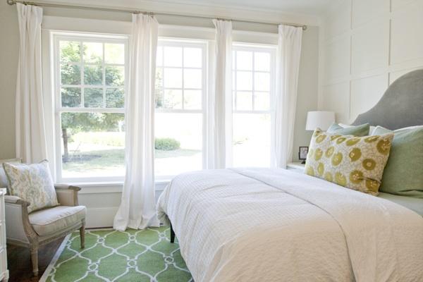 Trellis Rug Contemporary Bedroom Caitlin Creer Interiors